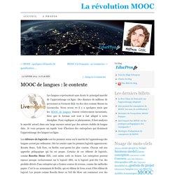 MOOC de langues : le contexte