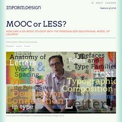 MOOC or LESS?