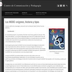 Los MOOC: orígenes, historia y tipos
