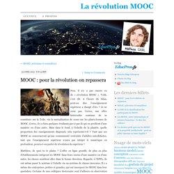 MOOC : pour la révolution on repassera