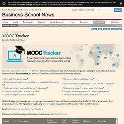 MOOC Tracker