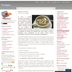 MOOC et tutorat