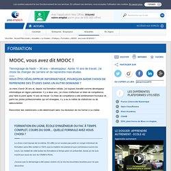 MOOC vous avez dit MOOC !