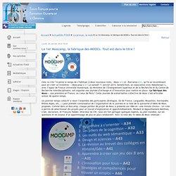 Le 1er Moocamp, la fabrique des MOOCs. Tout est dans le titre !