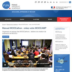 Manuel MOOCathon : créez votre MOOCAMP