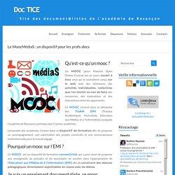 Le MoocMédiaS : un dispositif pour les profs-docs – DocTICE