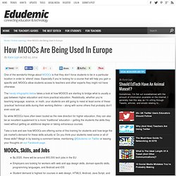 How MOOCs Are Being Used In Europe
