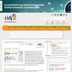 Un MOOC, c'est quoi ? - MOOCs : une nouvelle façon d'apprendre en ligne