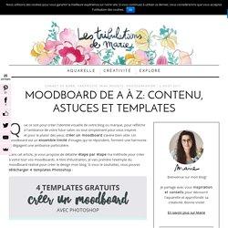 Créer un moodboard: conseils, astuces et templates