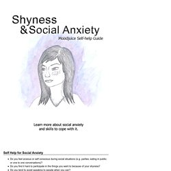 MOODJUICE - Shyness & Social Anxiety - Self-help Guide