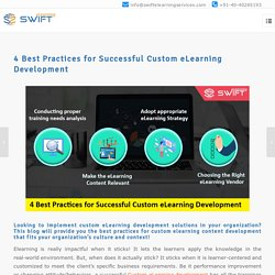 Top Tips for Designing Successful Custom eLearning Solutions