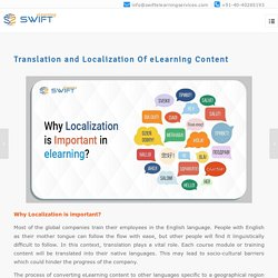 What is the importance of localizing your eLearning courses?