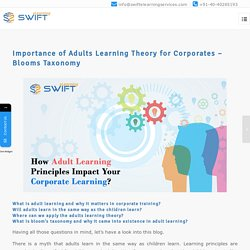 How Adult Learning Theories Impact Your Corporate Learning?