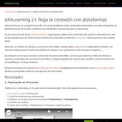 eXeLearning PROGRAMA LIBRE Y ABIERTO