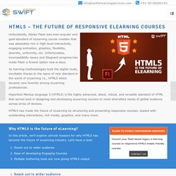HTML5 – The Future of Responsive eLearning Courses