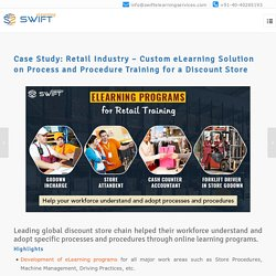 eLearning Solution Case Study on Discount Store Retail Training