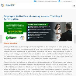 Employee Motivation eLearning course, Training & Certification