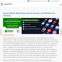 Social Media Marketing Online Course, Certification & Training