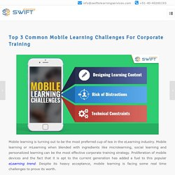 Mobile Learning Challenges in corporate training - elearning