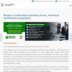 Women in leadership eLearning course, Training & Certification programme