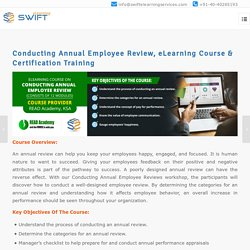 Conducting Annual Employee Review, Elearning Certification Course