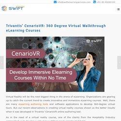 Trivantis' CenarioVR: 360 Degree Virtual Walkthrough eLearning Courses