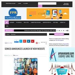 Sonico Announces Launch of New Website