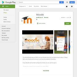 Moodle - Apps on Google Play