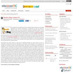 Moodle y Blogs, aliados TIC
