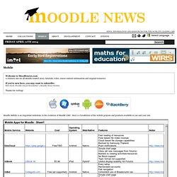 Moodle News
