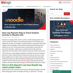 How Moodle Log Report Plugin Helps to Track Student Activity