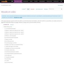 Moodle en vidéo