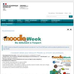 Moodle Week 2020 - MoodleWeek2020