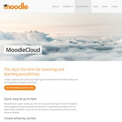 Learning Software Hosted in Cloud