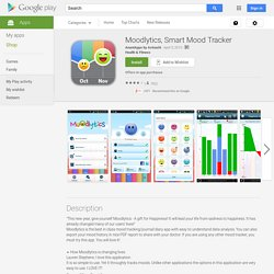 Moodlytics, Smart Mood Tracker - Android Apps on Google Play