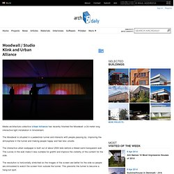 Moodwall / Studio Klink and Urban Alliance