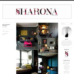 dark and moody apartment « Sharona Design