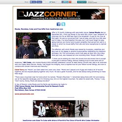 Moody, Mumbles, Free Music & Cuba from JazzCorner.com