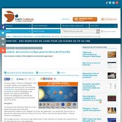Mookitek : des exercices en ligne pour les élèves du CP au CM2