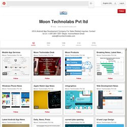Moon Technolabs Pvt ltd on Pinterest