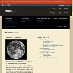 Moon Zoo - Explore the Moon
