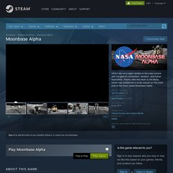 Moonbase Alpha on Steam