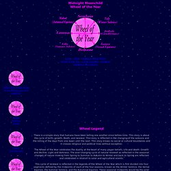 Moonchild Wheel of the Year Calendar