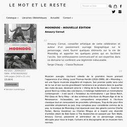 Moondog - Nouvelle édition