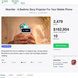 Moonlite - A Bedtime Story Projector For Your Mobile Phone by Natalie Rebot