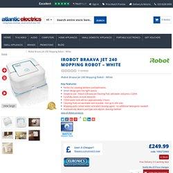 iRobot Braava Jet 240 Mopping Robot – White