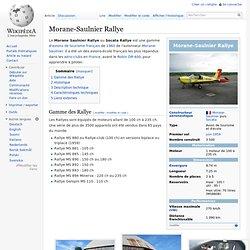Morane-Saulnier Rallye