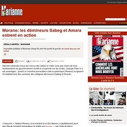 Morano: les d mineurs Sabeg et Amara entrent en action