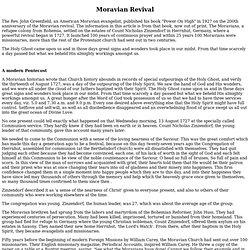 Moravian Revival