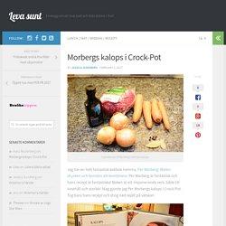 Morbergs kalops i Crock-Pot, recept kalops i Crock-Pot
